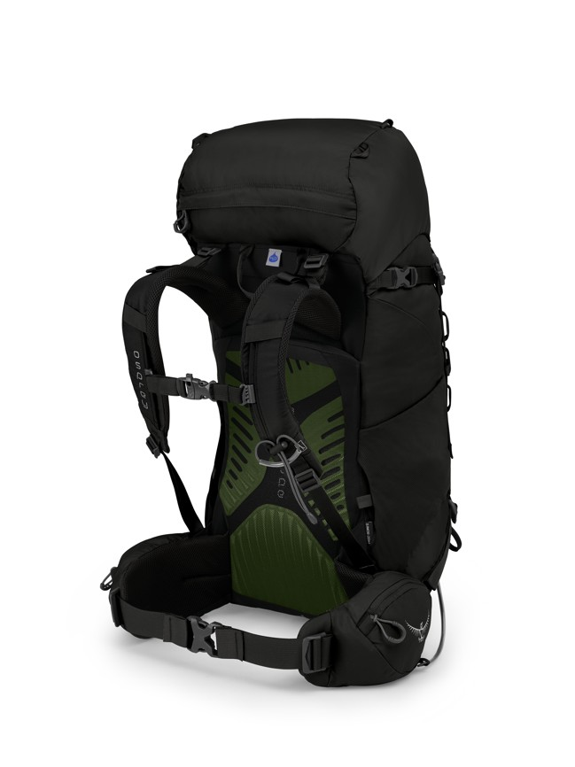 Osprey Kestrel 38 black 2019