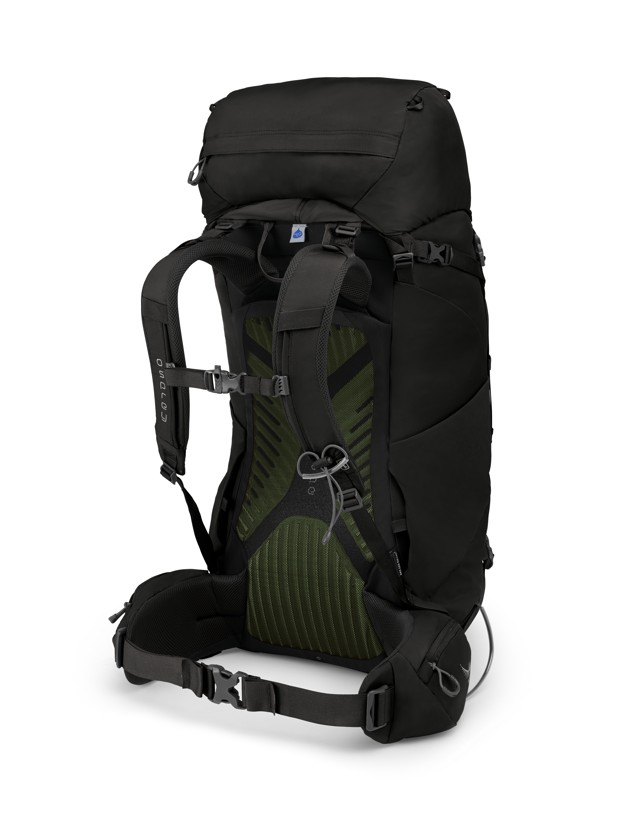 Osprey Kestrel 58 black 2019