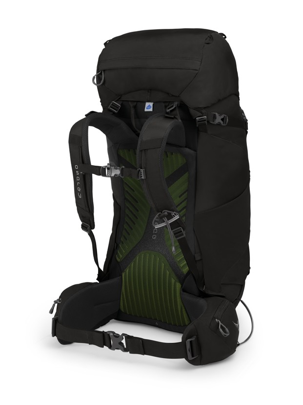 Osprey Kestrel 68 black 2019