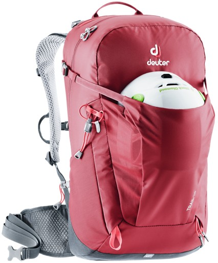 Deuter Trail 26 cranberry graphite