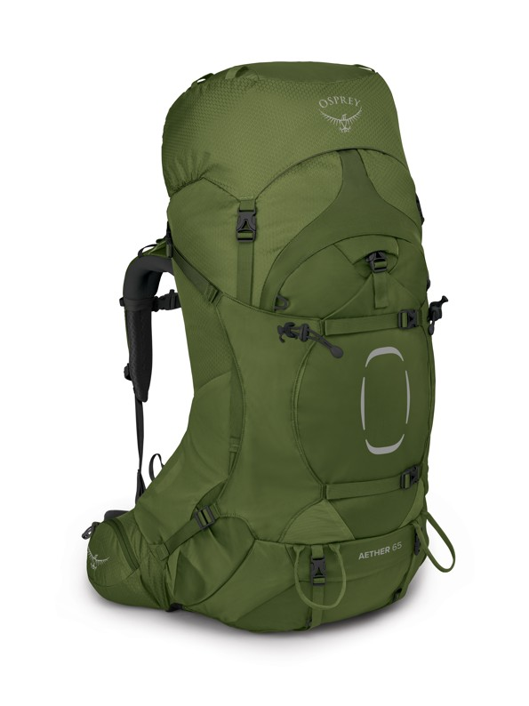 Osprey Aether 65 garlic mustard green