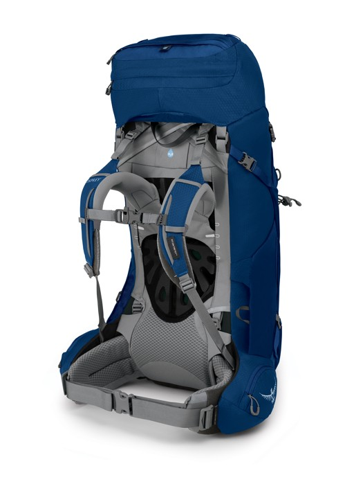 Osprey Ariel 55 ceramic blue