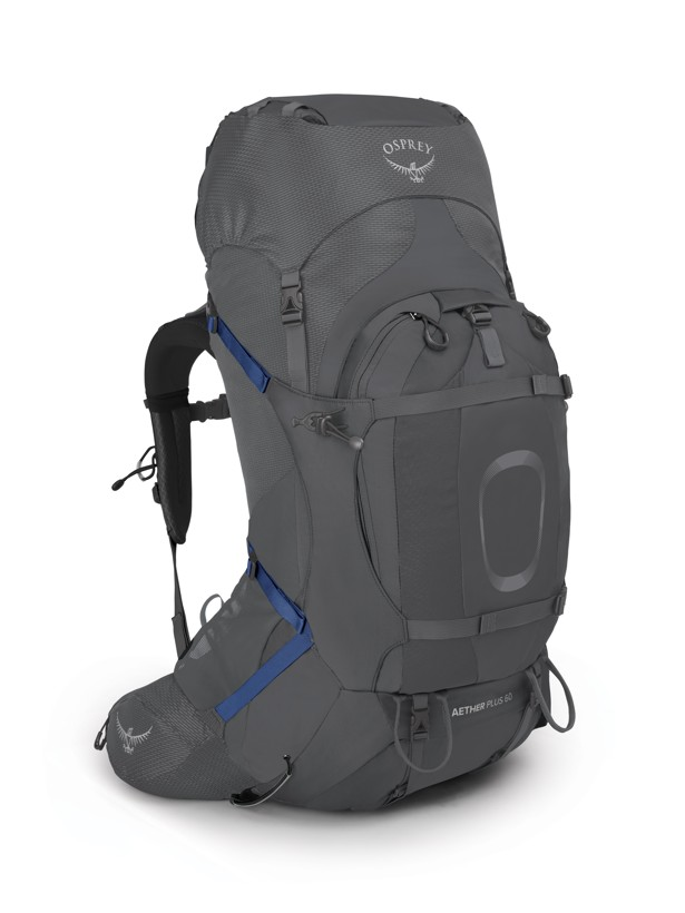 Osprey Aether Plus 60 eclipse grey