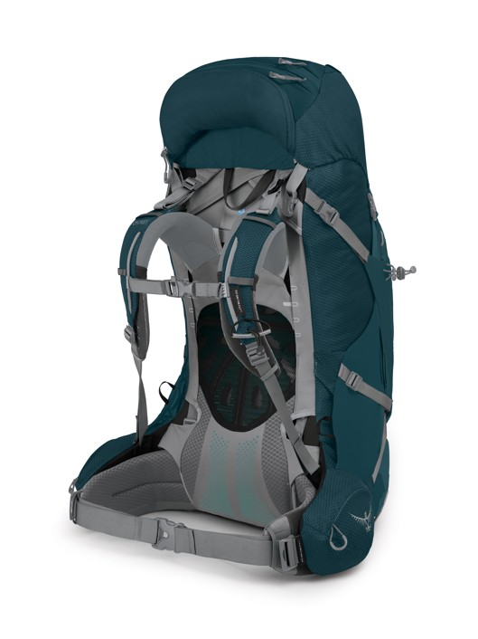 Osprey Ariel Plus 60 night jungle blue