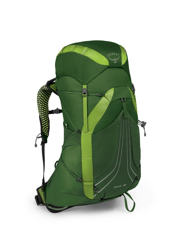Osprey Exos 48 II tunnel green