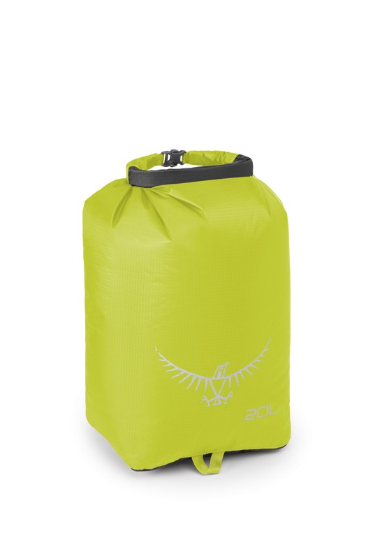 Osprey Ultralight Drysack 20 electric lime