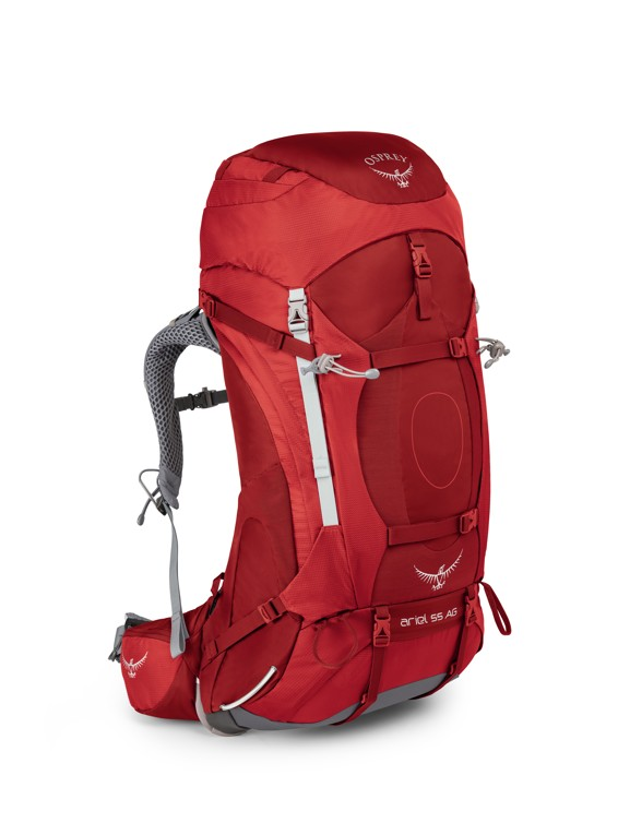 Osprey Ariel AG 55 picante red