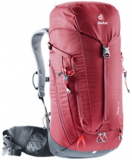 Deuter Trail 30 cranberry graphite