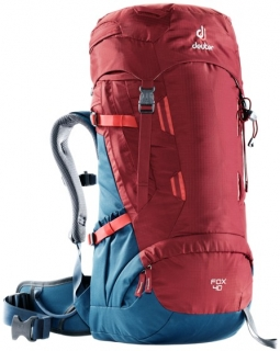 Deuter Fox 40 cranberry steel