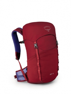 Osprey Jet 18 II cosmic red